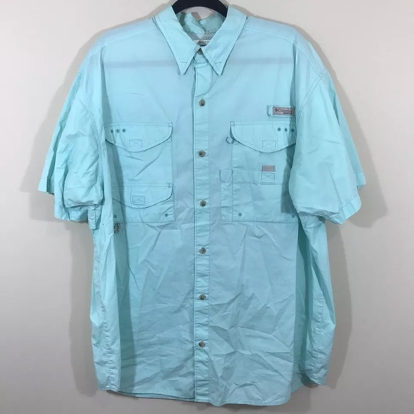 61eacaf346f Columbia Shirts   Mens Pfg Bonehead Short Sleeve Shirt   Poshmark